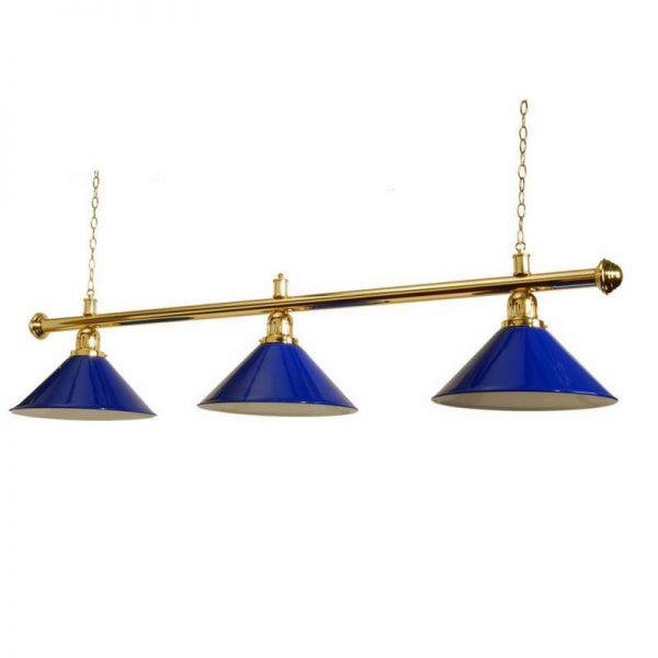 Pool Table Lighting Canopy Blue