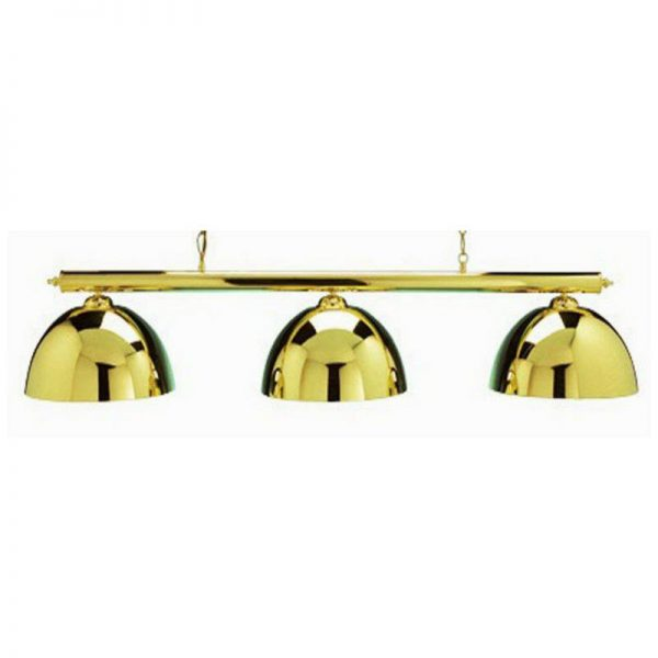 Pool Table Lighting Canopy Brass