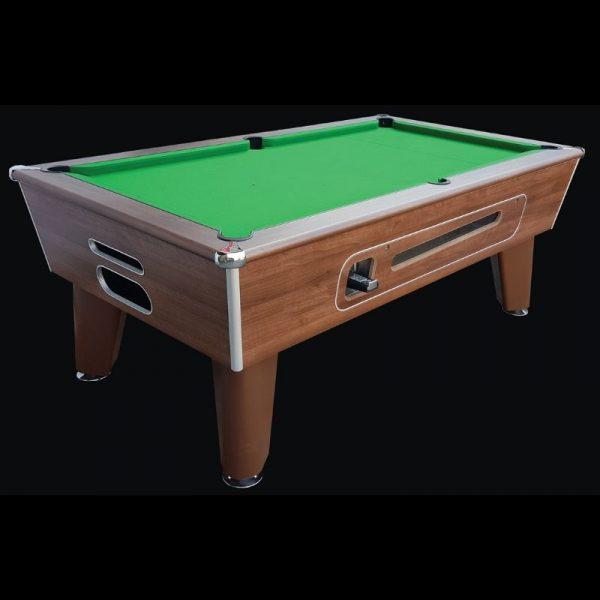 Aztec Blackball Dark Walnut Pool Table