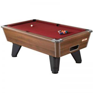 Supreme Winner Walnut Pool Table