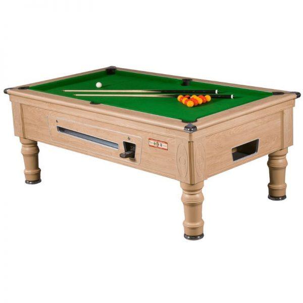 Supreme Prince Oak Pool Table