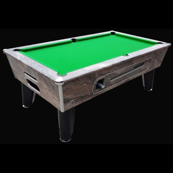 Aztec Blackball Marble Pool Table