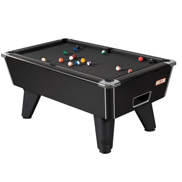 Supreme Winner Homeplay black ash pool table