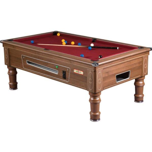 Walnut Supreme Prince Pool Table