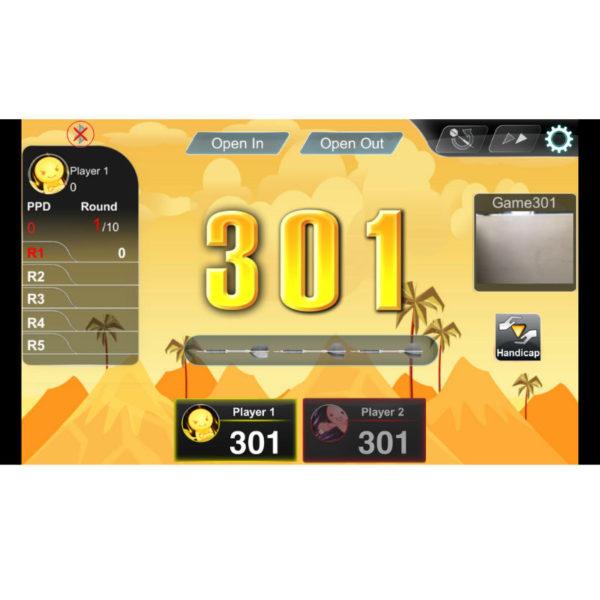 VDarts H3L Electronic Dartboard