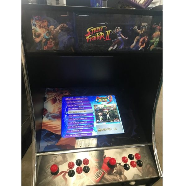 Refurbished Street Fighter II Retro Video Machine