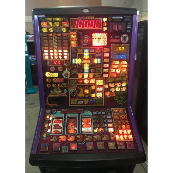 Shrewlock Holmes Fruit Machine