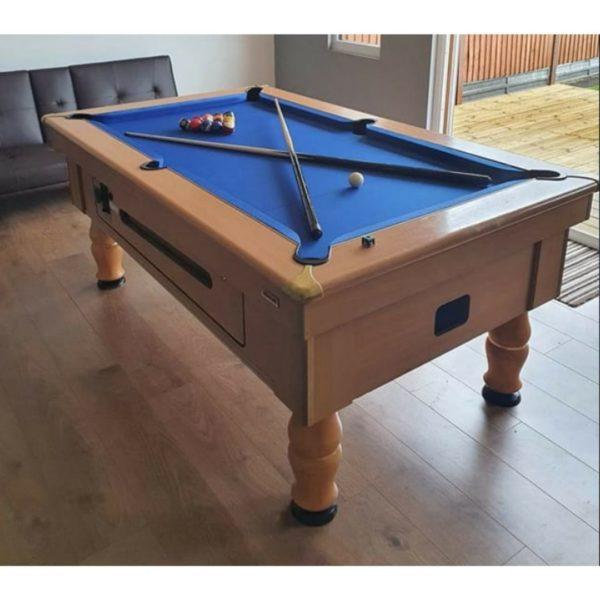 Beech pool Table (1)