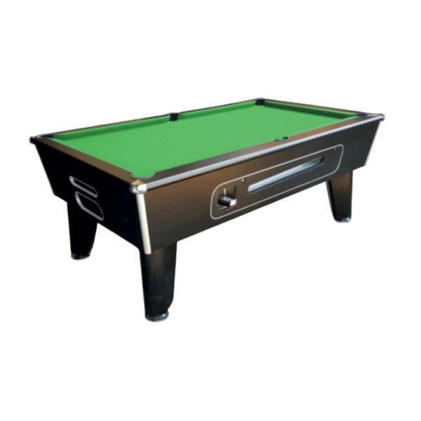 Blackball Black Pool Table