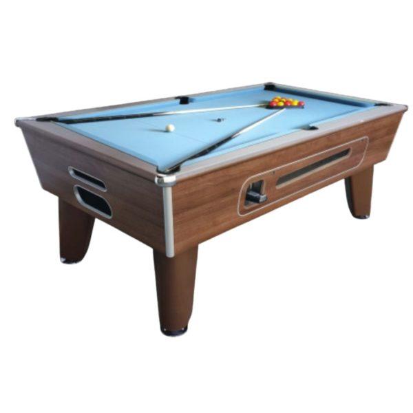 Blackball Dark Walnut Pool Table
