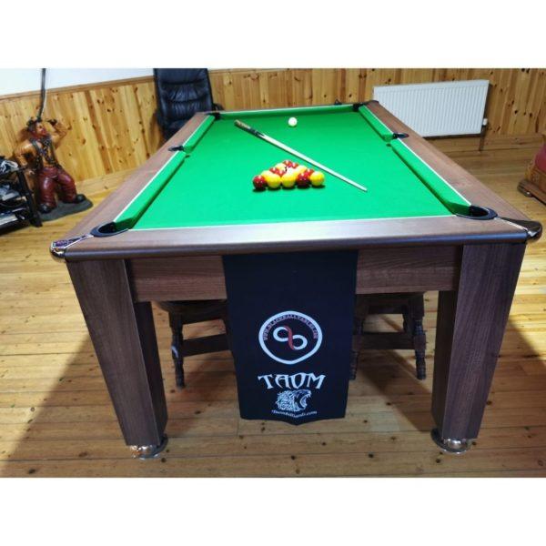 Blackball Edinburgh Dark Walnut Pool Table