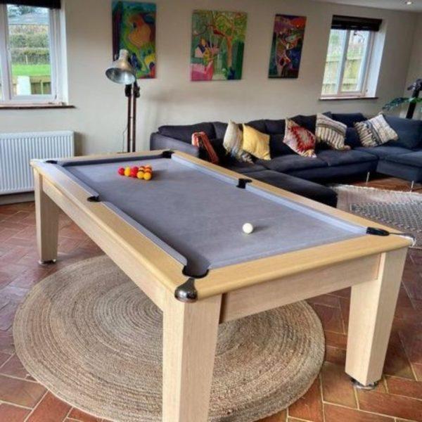 Blackball Edinburgh Light Oak Pool Table