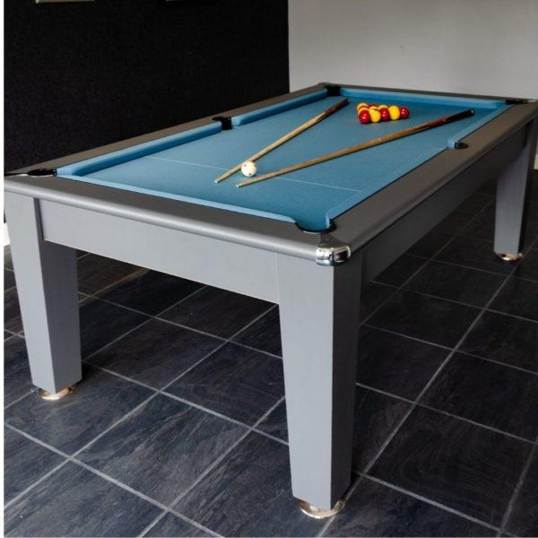 Blackball Edinburgh Midnight Grey Pool Table