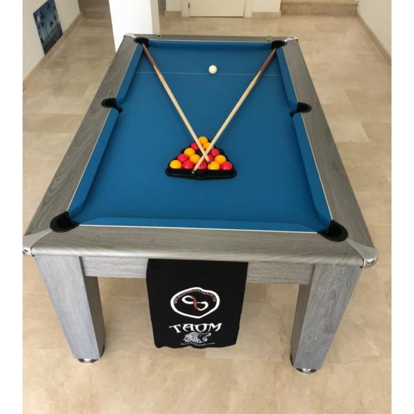 Blackball Edinburgh Silver Oak Pool Table