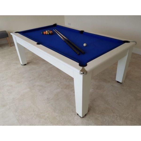 Blackball Edinburgh White Pool Table