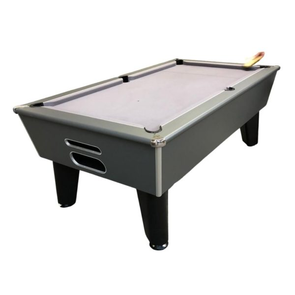 Blackball Midnight Grey Pool Table