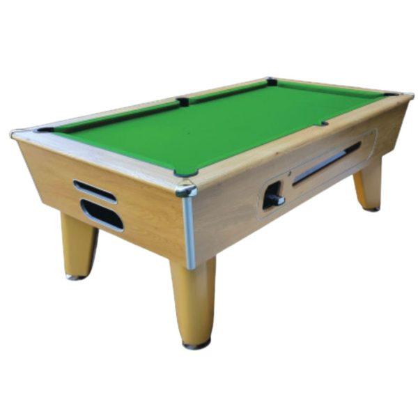 Blackball Winchester Oak Pool Table