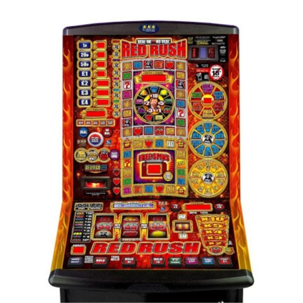 DOND Red Rush Fruit Machine