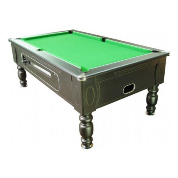 Optima Black Pool Table