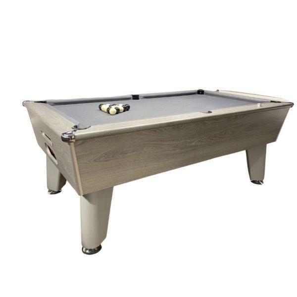 Optima Classic Silver Oak Pool Table (1)
