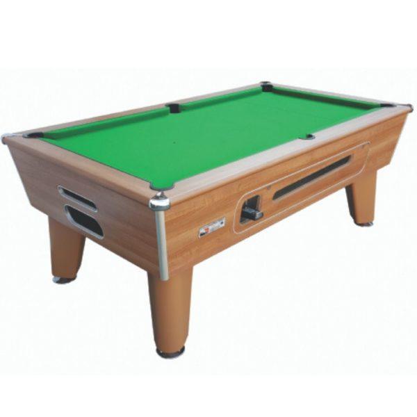 Optima Classic Walnut Pool Table