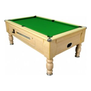 Optima Light Oak Pool Table