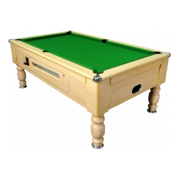 Optima Light Oak Pool Table